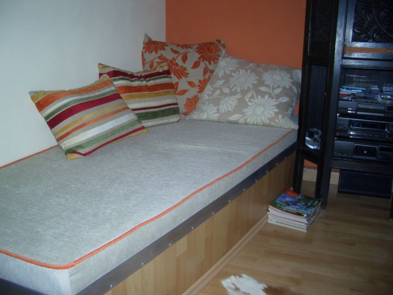 polstern von r ckenpolster sofa sitzfl che stuhl sofa bett in sinsheim hoffenheim. Black Bedroom Furniture Sets. Home Design Ideas